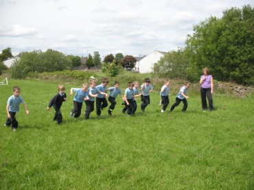 On Friday afternoon we had our traditional Sports Day races and events. We all really enjoyed the week.