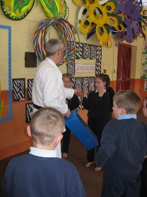 Junior & Senior Infants and 2nd class enjoyed their introduction to Karate.