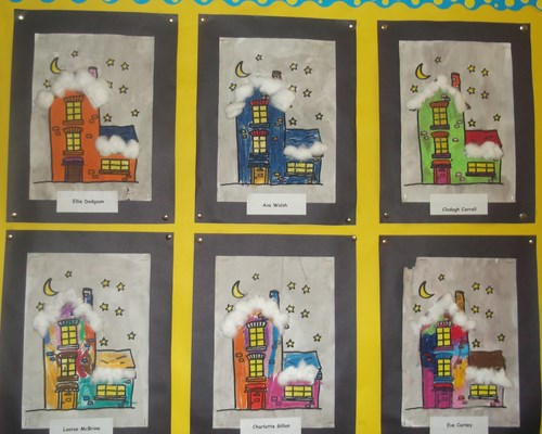 Christmas art-Ms. McCallion's class.