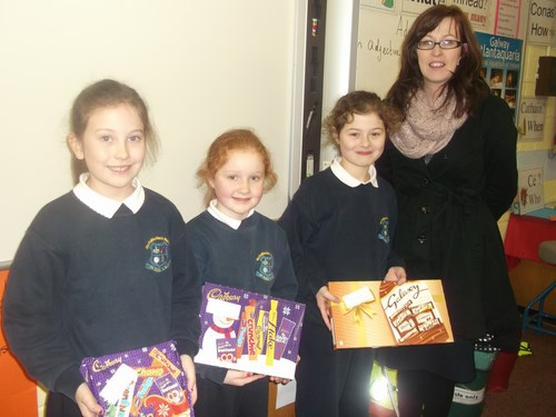 Credit Union Poster Competition- 3rd Class winners