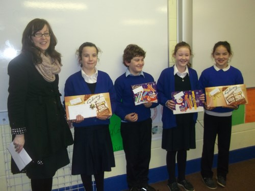Credit Union Poster Competition- 4th Class winners
