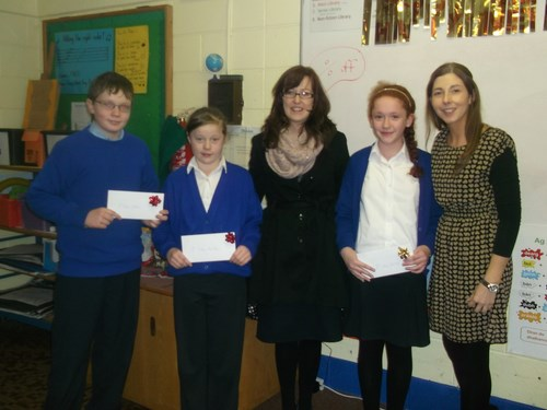 Credit Union Poster Competition-5th Class winners