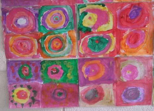 2nd Class -Patterns in art