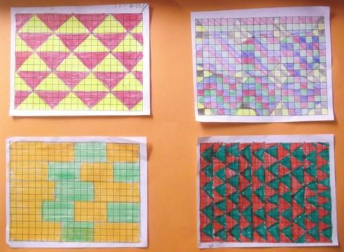 4th Class -Shape Patterns