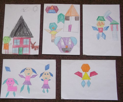 2nd Class- Shape Pictures
