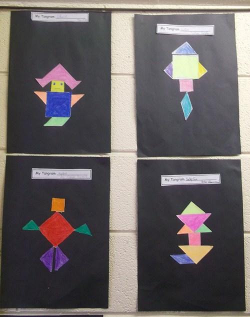 5th Class Tangram Art