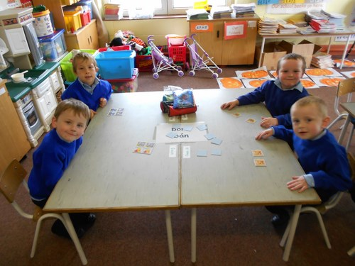 Junior Infants -matching activities