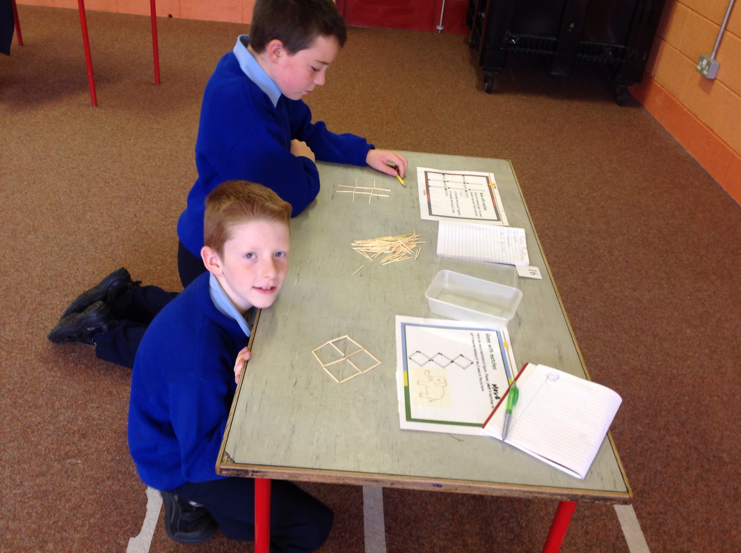 Solving matchstick puzzles
