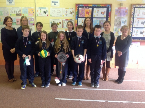 Middle and Senior Prize-winners