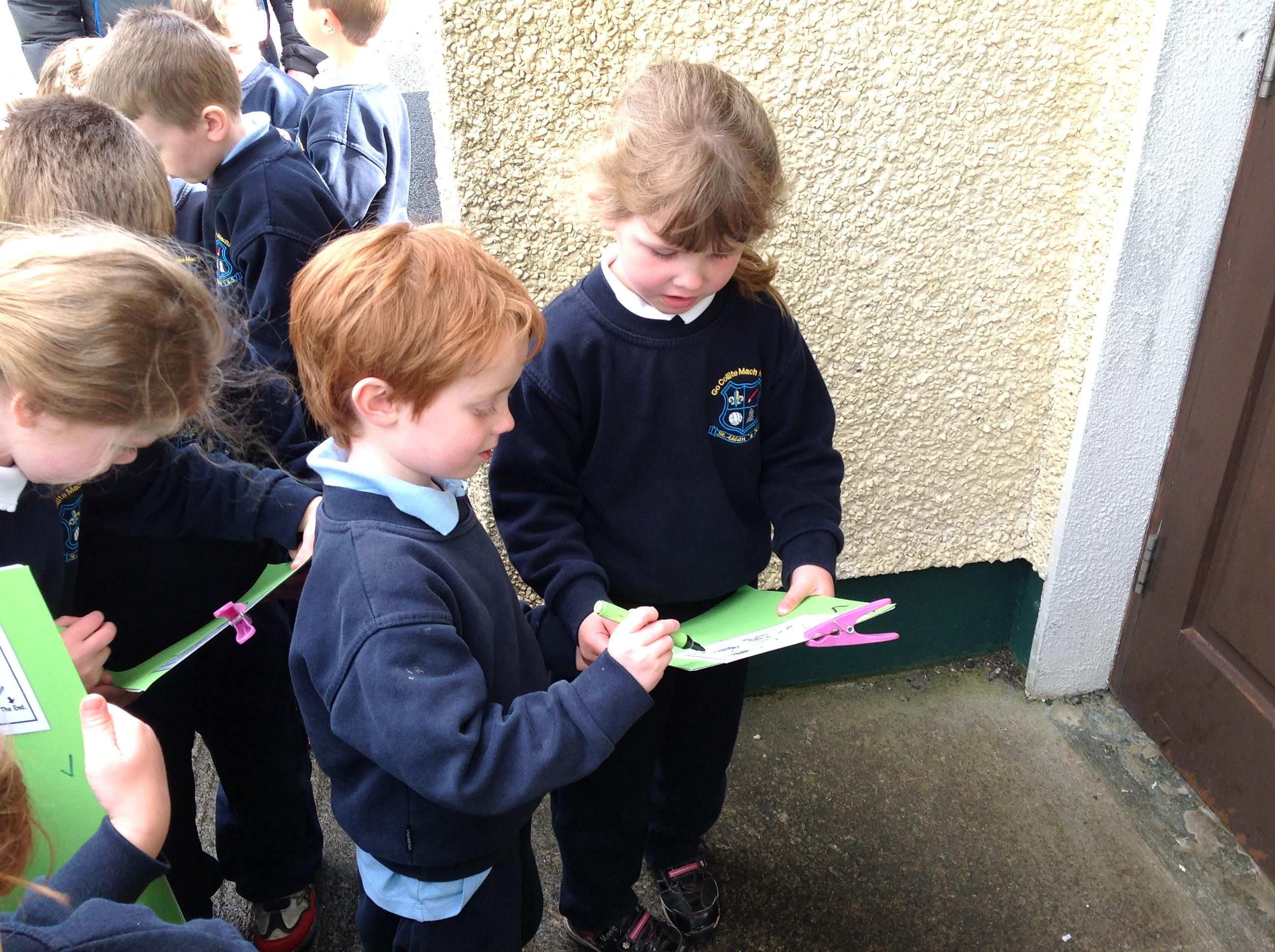 Orienteering with Infants