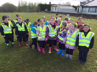 Welly Walk with Senior Infants