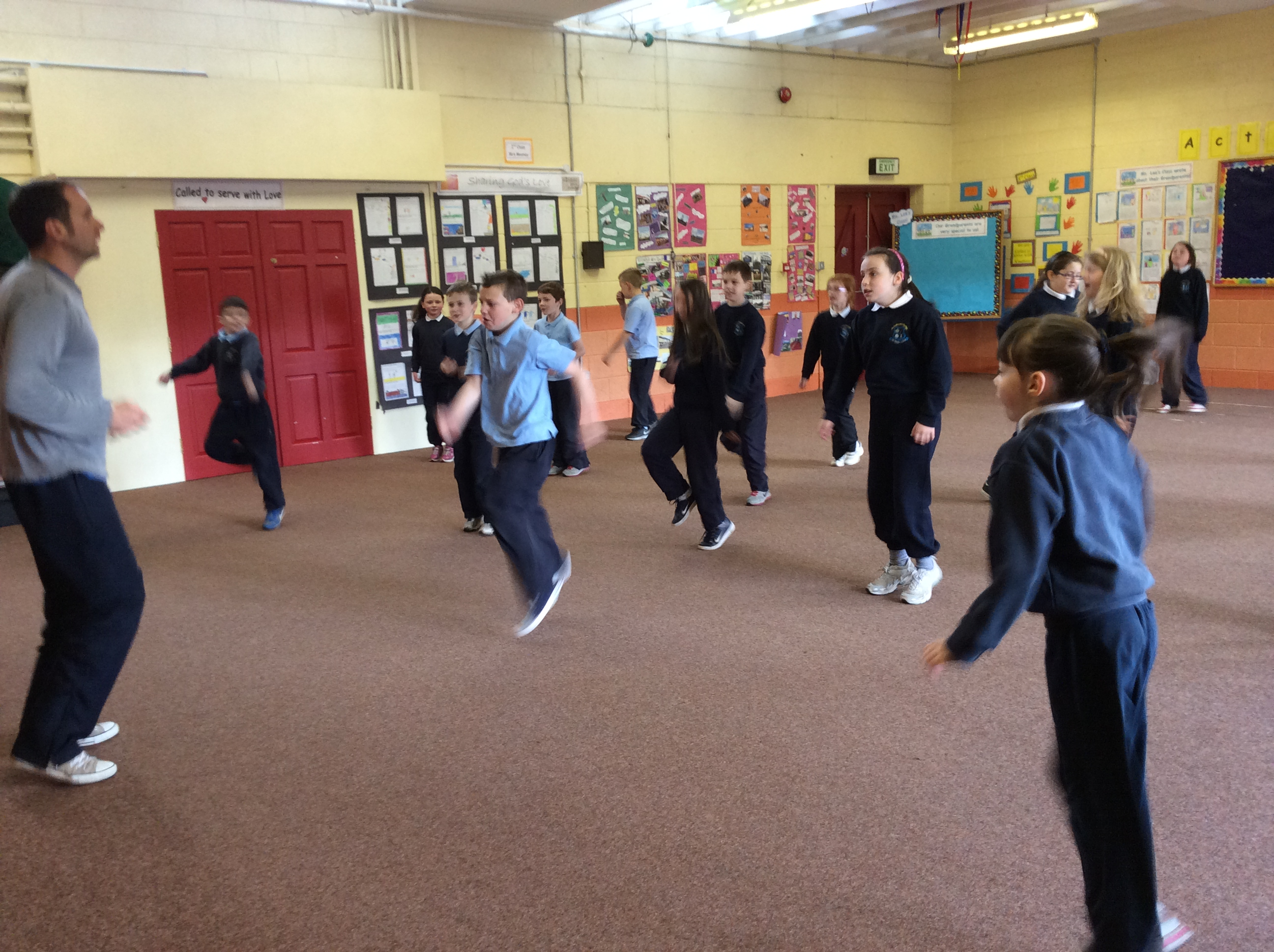 Tai Chi with 3rd Class