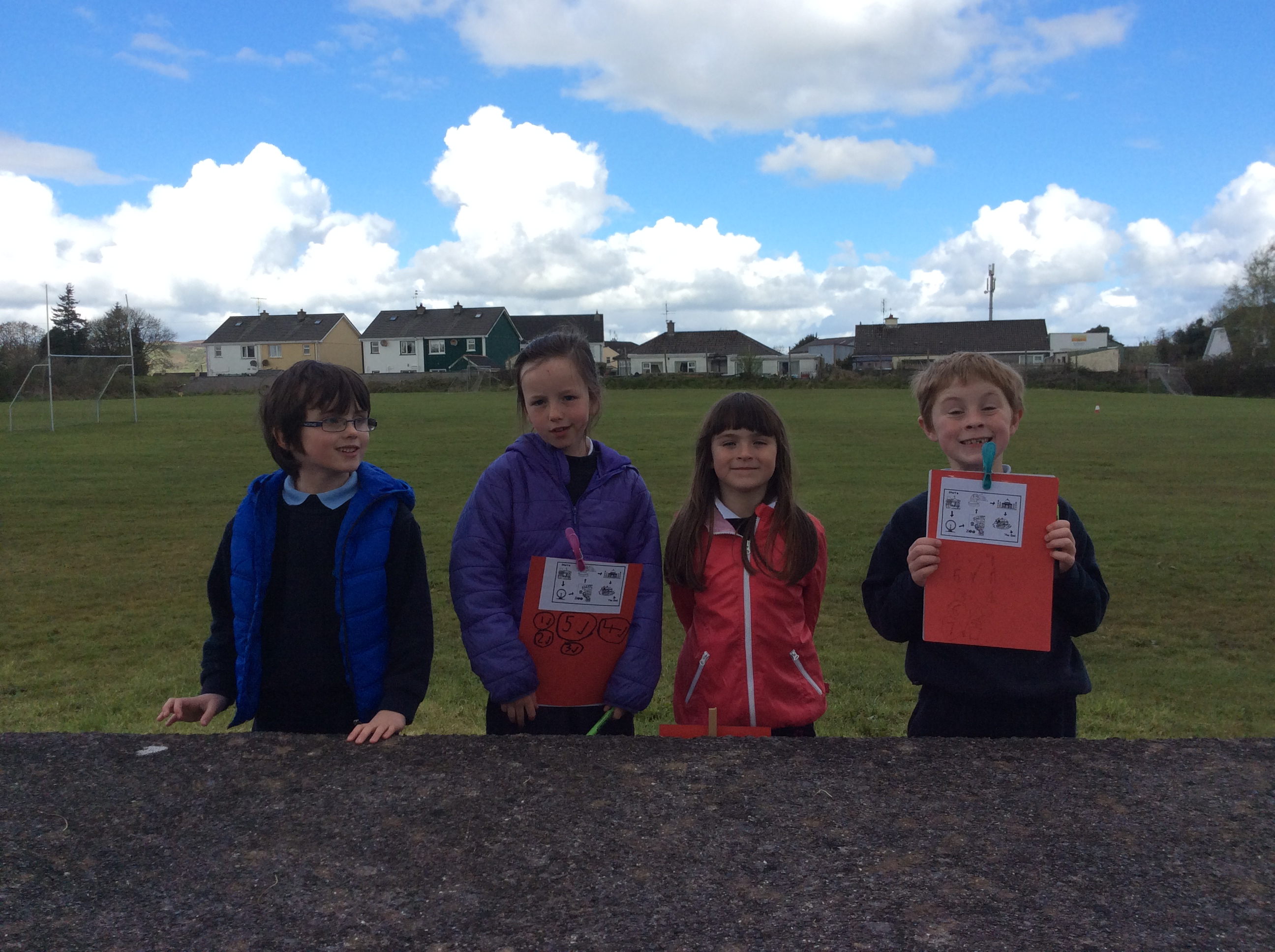 Orienteering with 1st Class