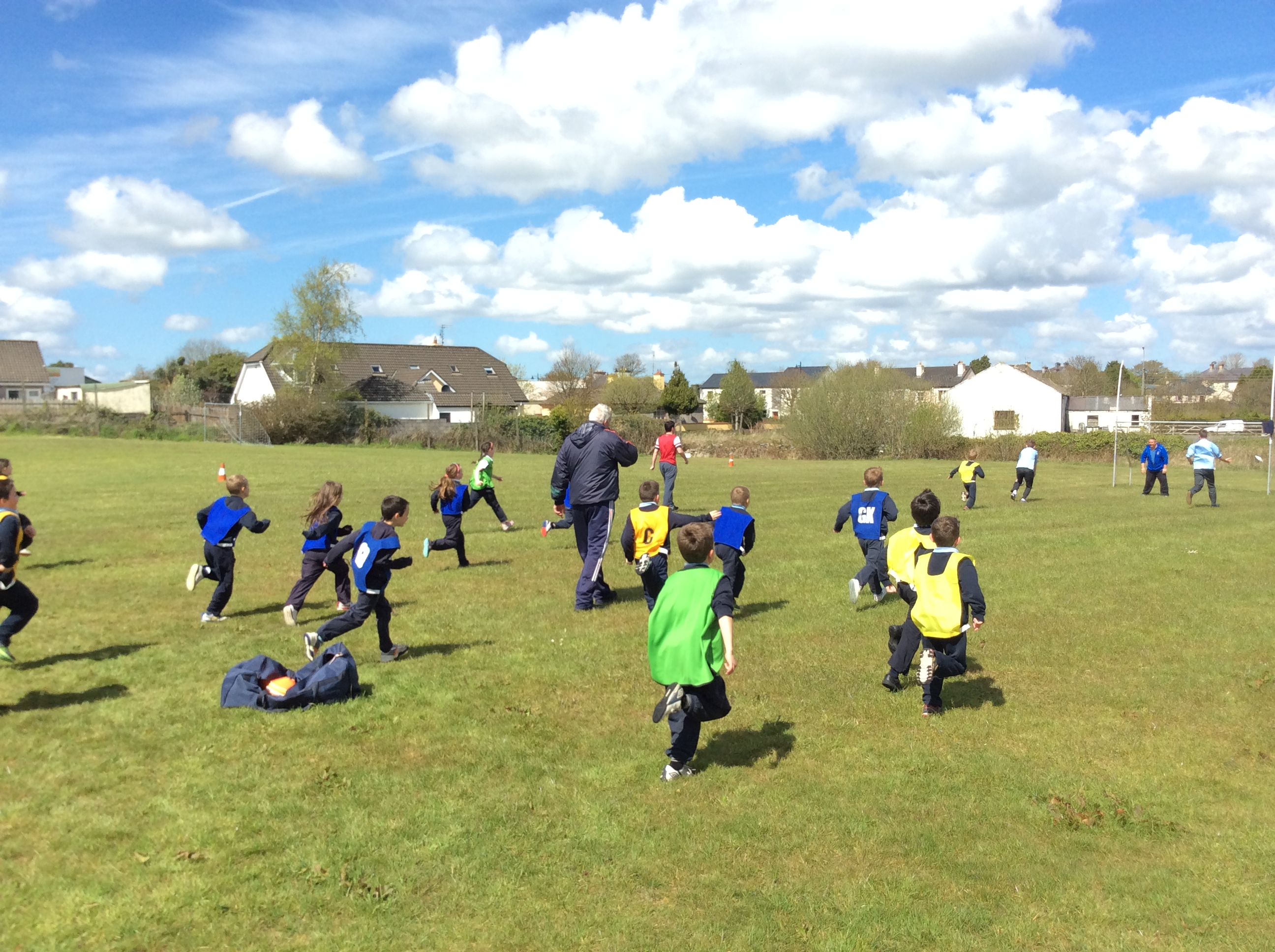 Football with 1st Class