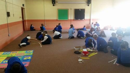 3rd Class- Marshmallow Challenge