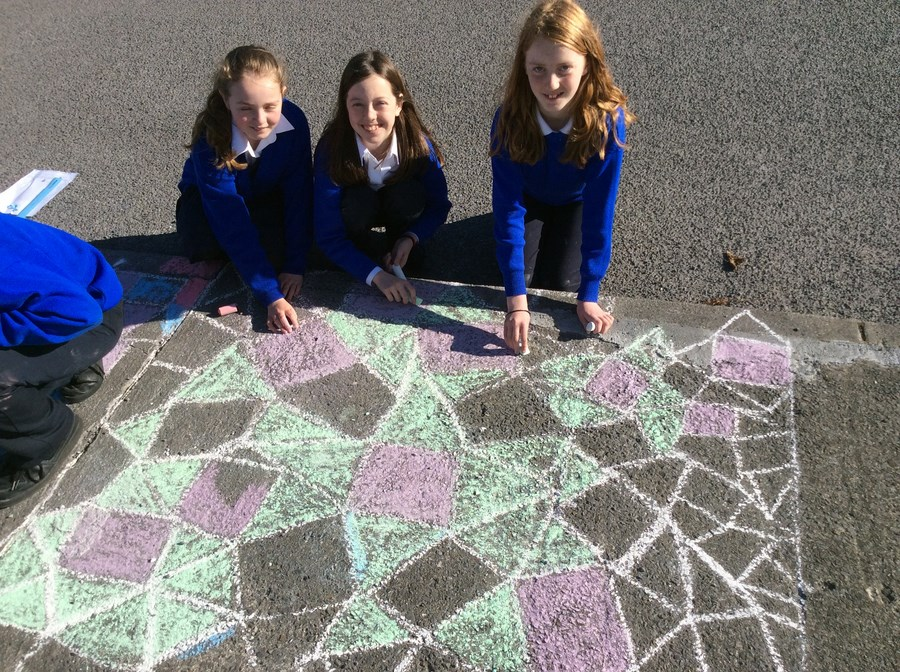 6th Class explore tessellating shapes