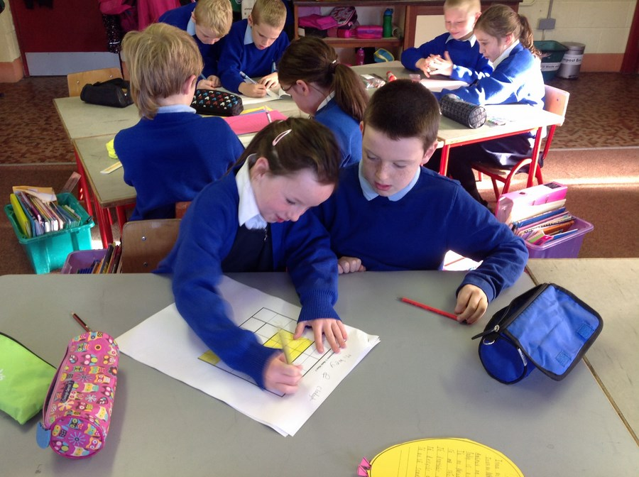 2nd Class learn about mazes
