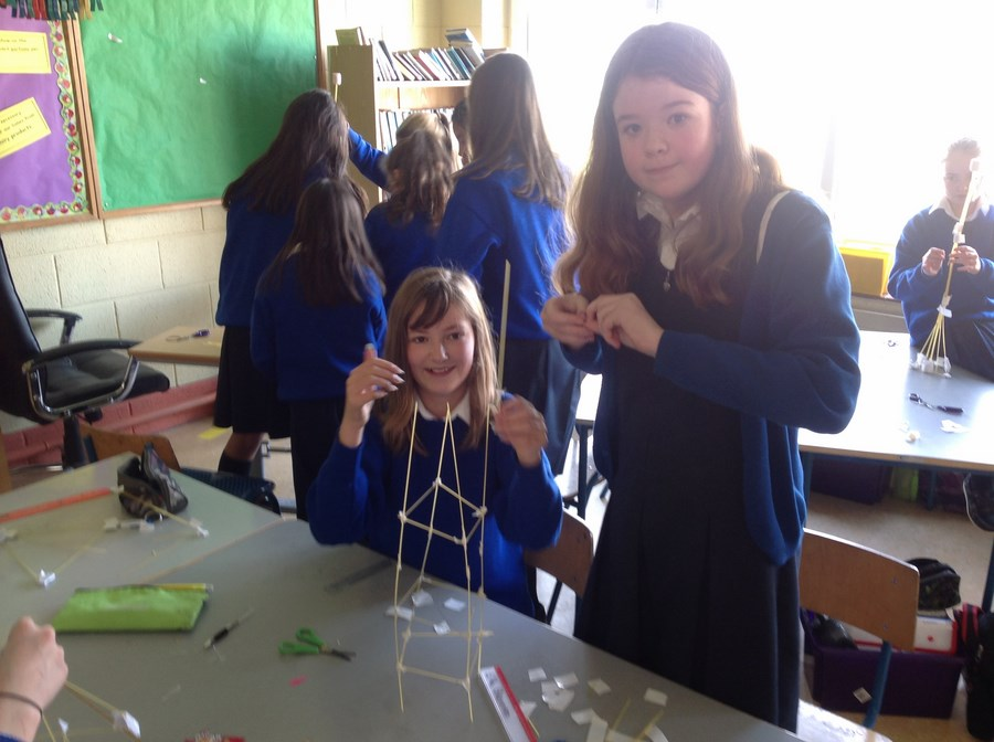 6th Class - Marshmallow challenge