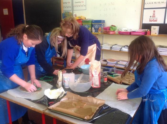 We enjoyed baking!