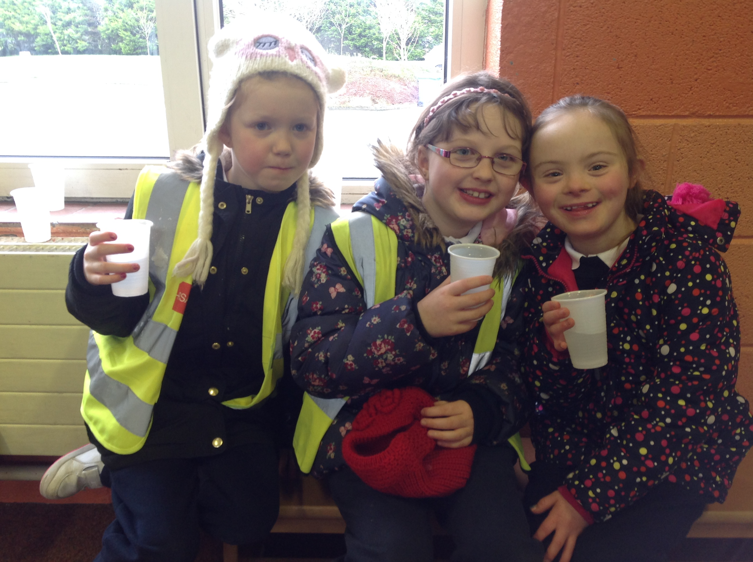 We enjoyed our refreshments after all of the exercise