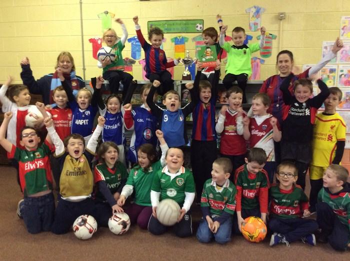 First Class footballers!