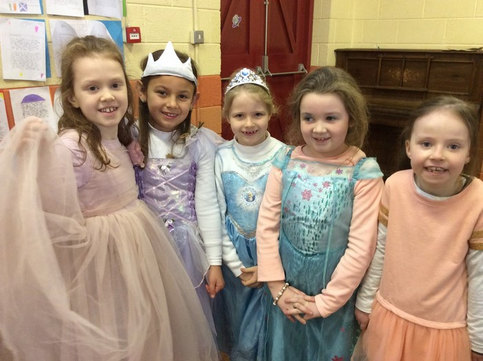 Pretty Princesses from 2nd Class