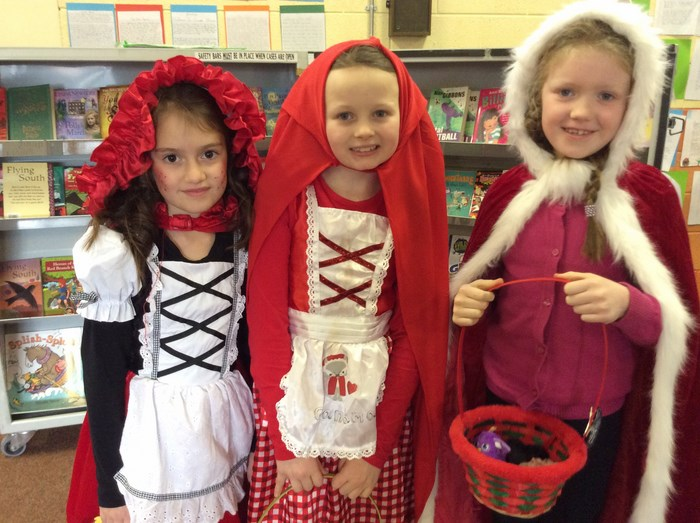 Little Red Riding Hoods
