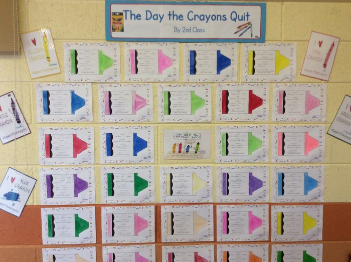 2nd Class wrote about their favourite colours