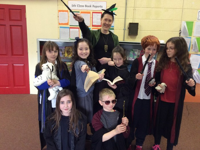 Lots of 'Harry Potter' characters