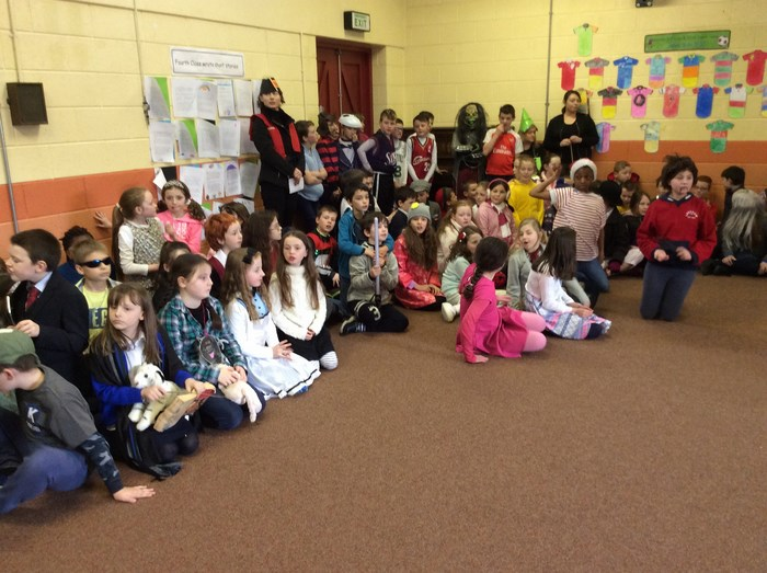 Assembly on Character Day