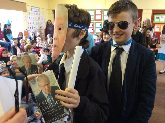 6th Class introduce their characters