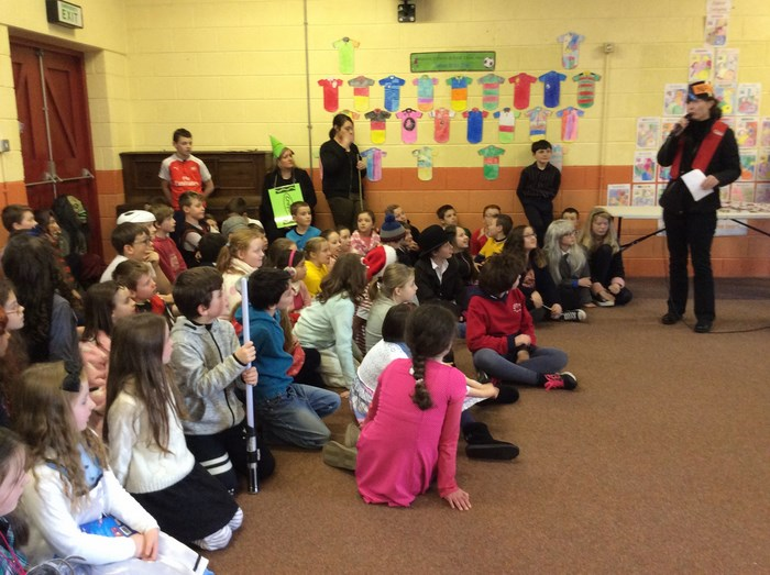 Ms Tierney introduces Characters in 4th Class