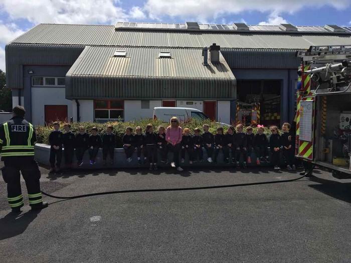 Senior Infants enjoyed Funster and Fire Station