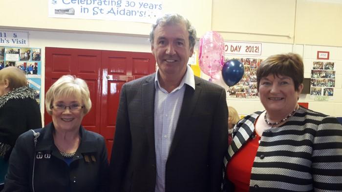 Principals; Mrs King, Mr Fogarty, Mrs Cunnane