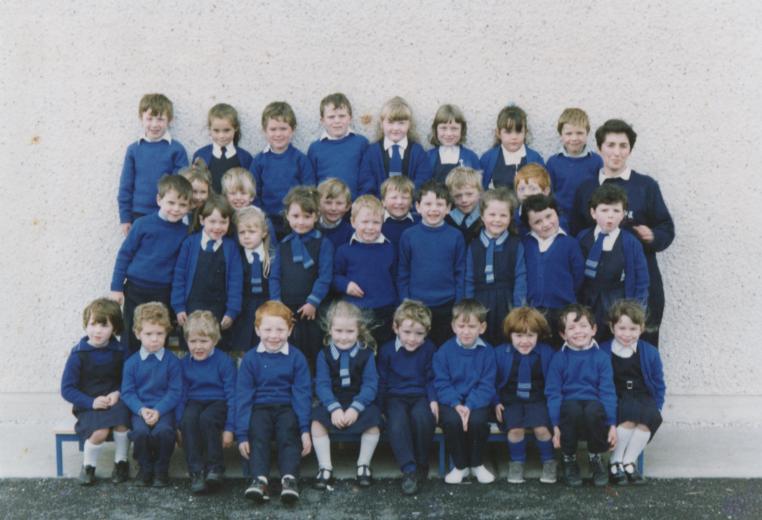 First Junior Infant Class 1988-89